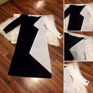 🦋2/$10 3/$15 4/$18 5/$20 Vintage B&W Dress